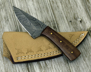 Damascus Knife, Damascus Steel Knife Mens father's day, birthday gifts for men gifts for husband gifts for boyfriend gifts for dad gifts him - SHOKUNIN USA
