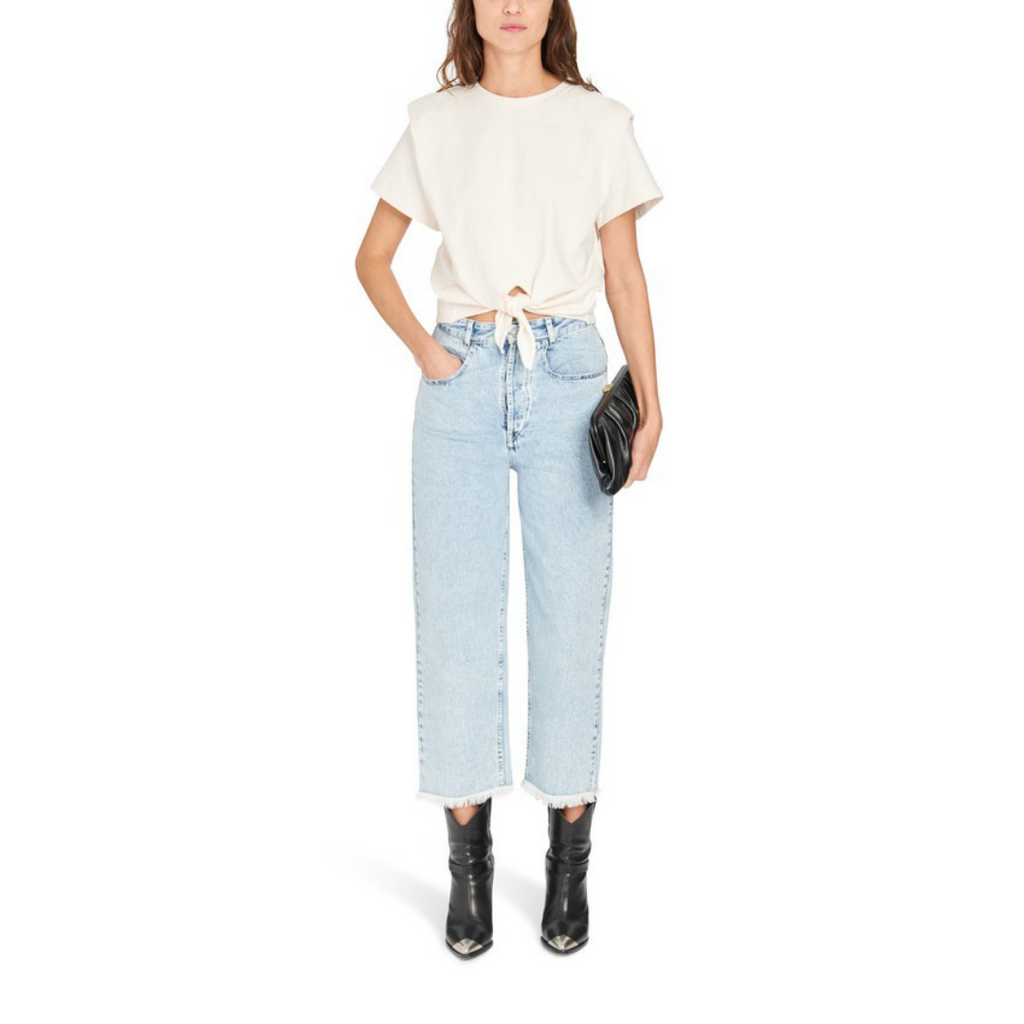 Isabel Marant Laliskasr Jeans - Light Blue