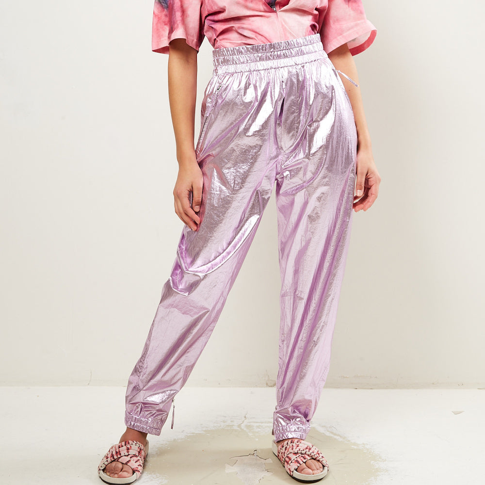 Isabel Marant Galoni Pants - Metallic Lilac