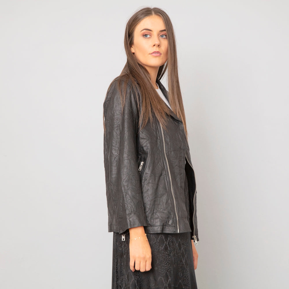 Zadig & Voltaire Laski Leather Jacket