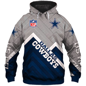 best website 83780 2c5d6 Dallas Cowboys Hoodie 3D Football Sweatshirt Pullover NFL gift for fans
