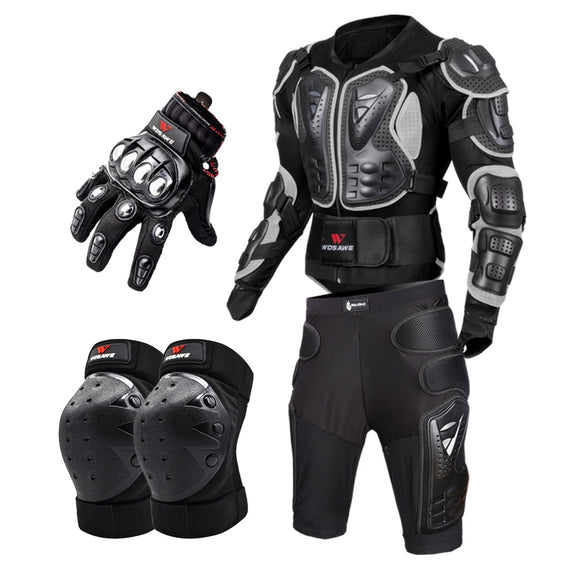 Motorcycle Full Body Armor Kit