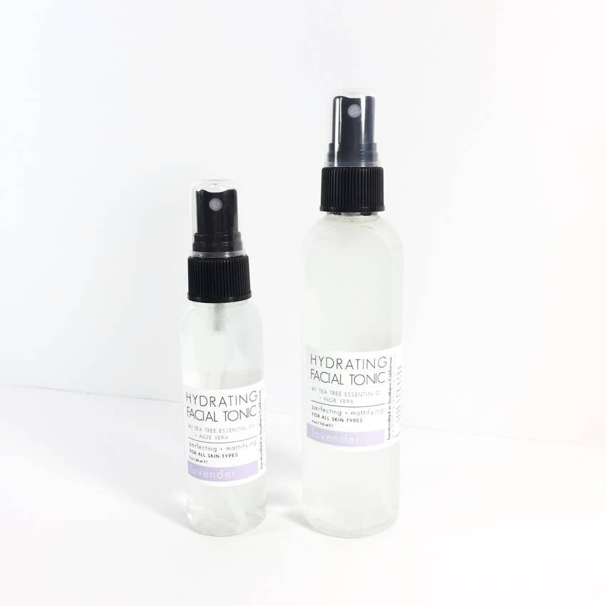 Facial Tonic - 2 oz | Lavender, Aloe Water, Witch Hazel