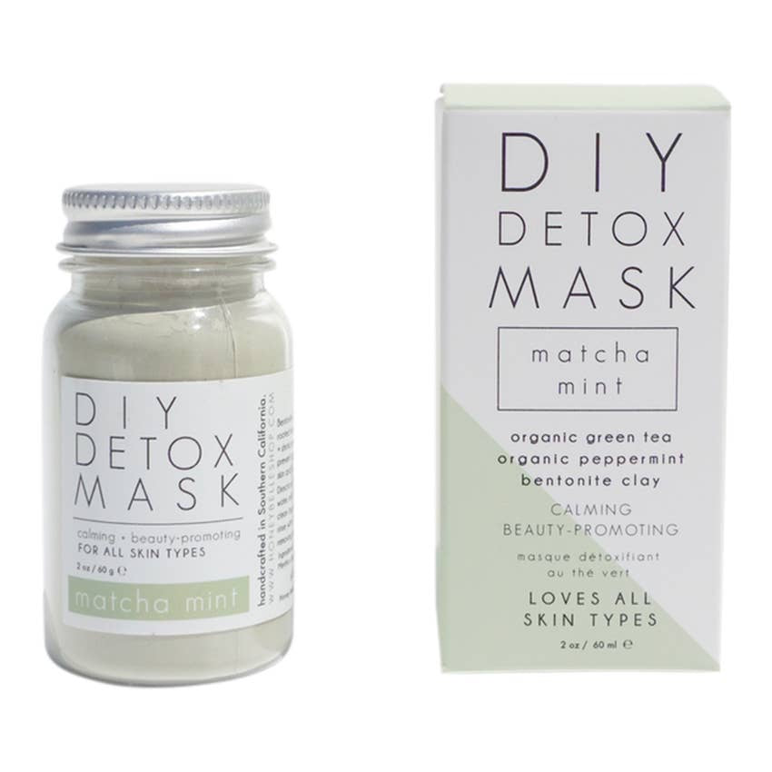 Matcha Green Tea Detox Face Mask | Natural DIY Facial Mud