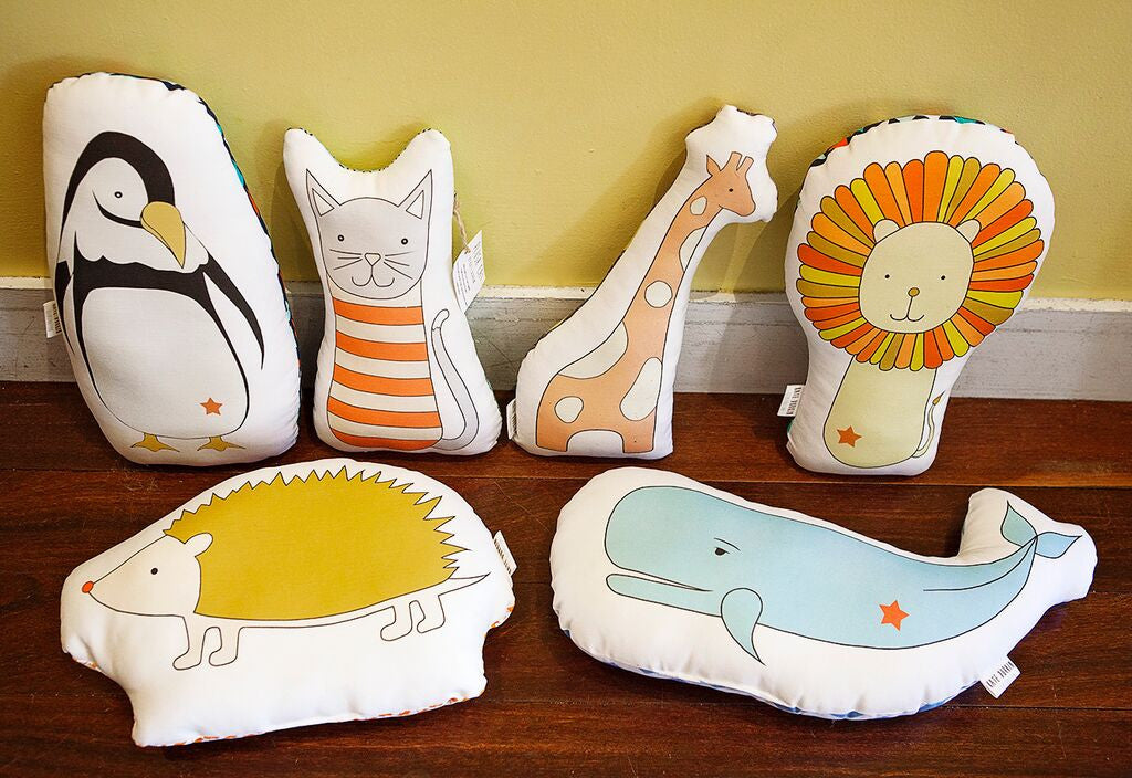 Kate Durkin Plush Pillows