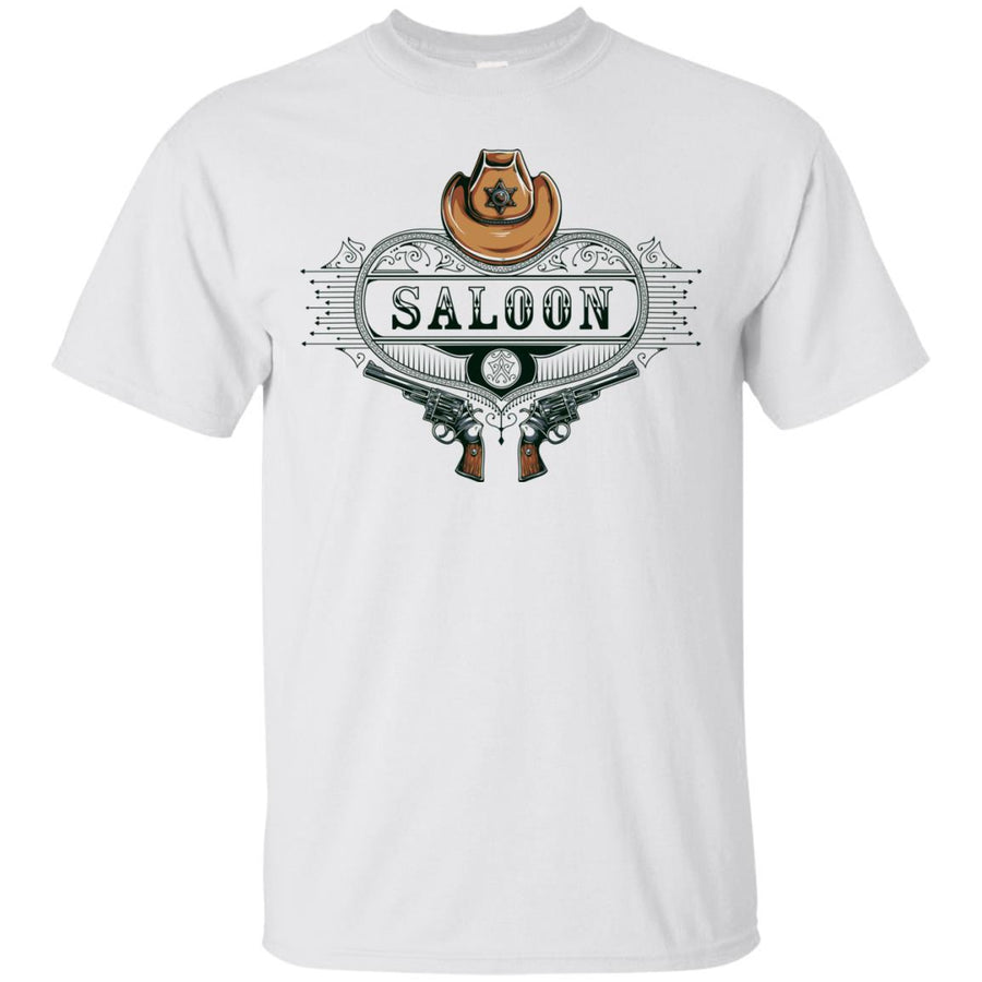 Wild West Saloon Tshirt Ultra Cotton T-Shirt