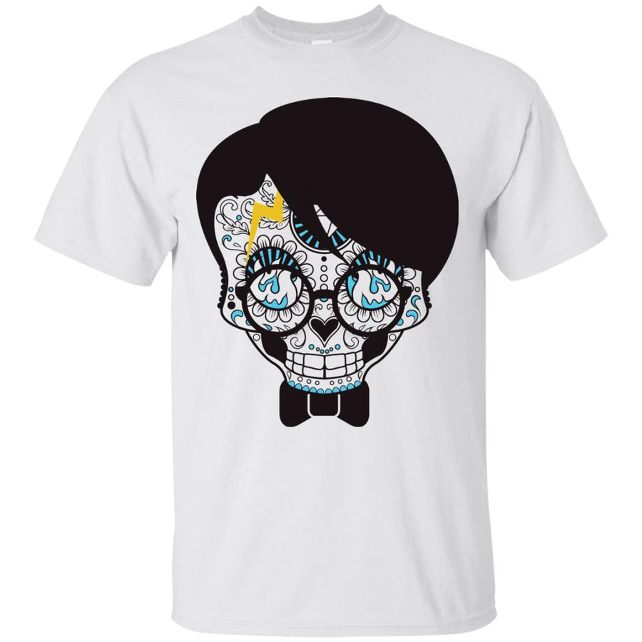 Skull With Hair and Glasses Tshirt Ultra Cotton T-Shirt