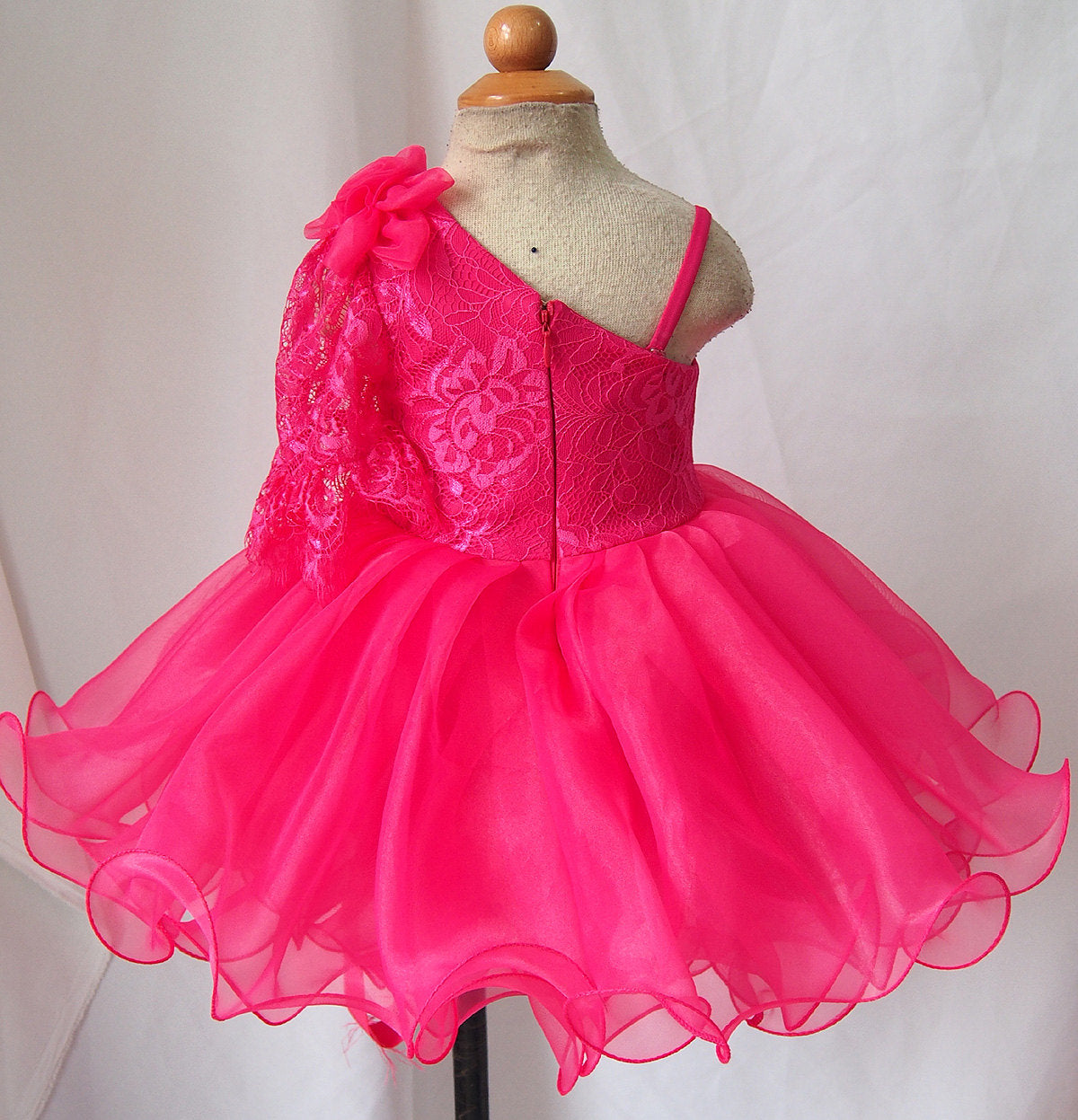 Infant//toddler//baby Lace Halter Pageant Dress G099-5  from new born to size5T