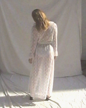 Christian Dior Sheer Robe