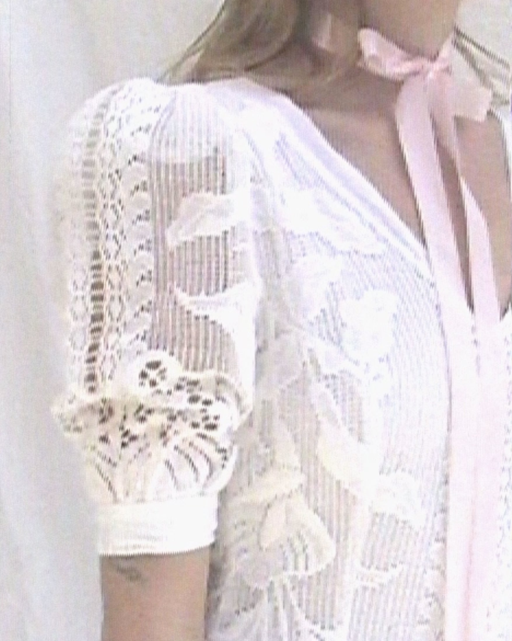 Puff Sleeved Lace Dress