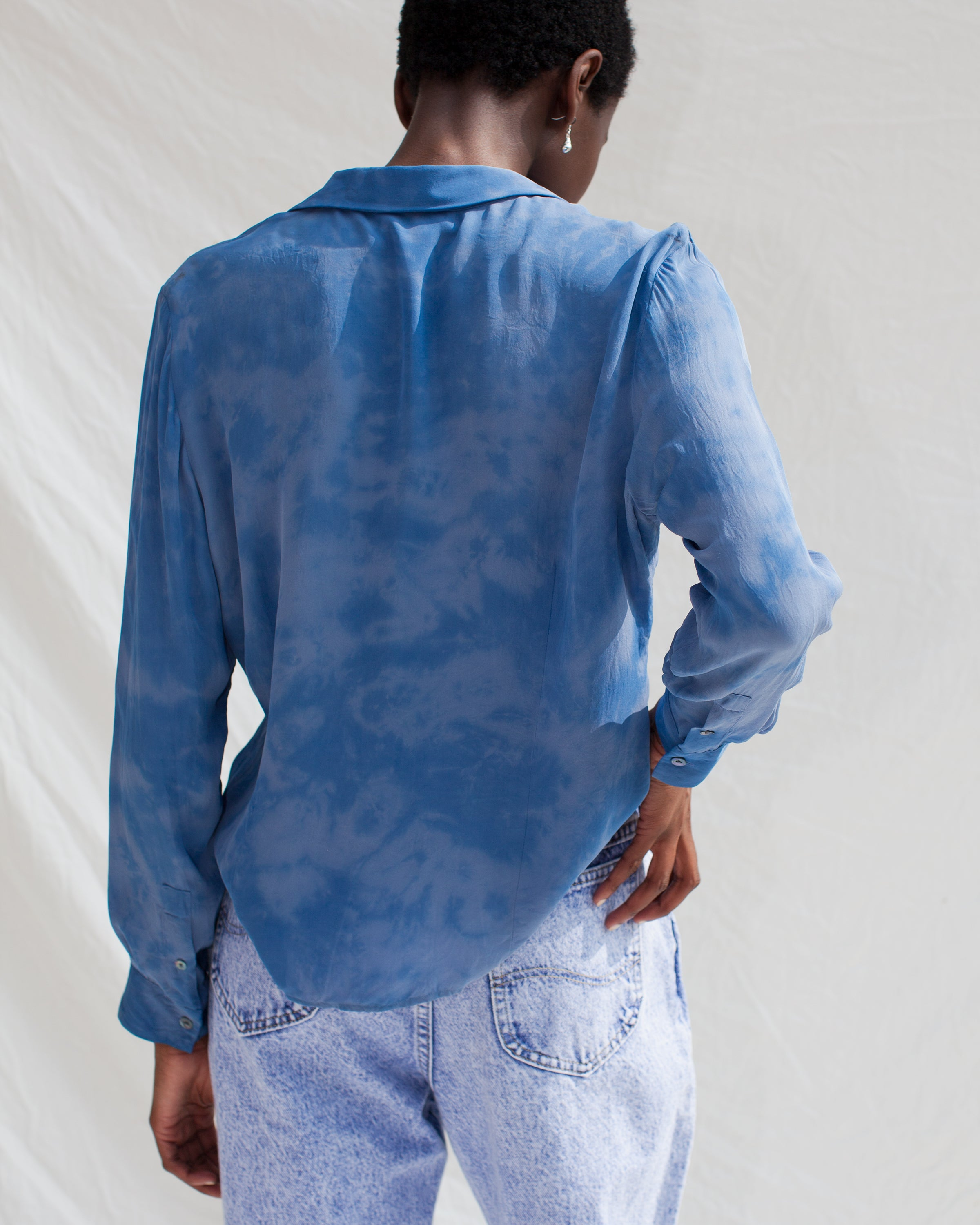 Moody Blues Long Sleeved Button Up