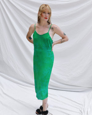 Emerald Green Slip Dress