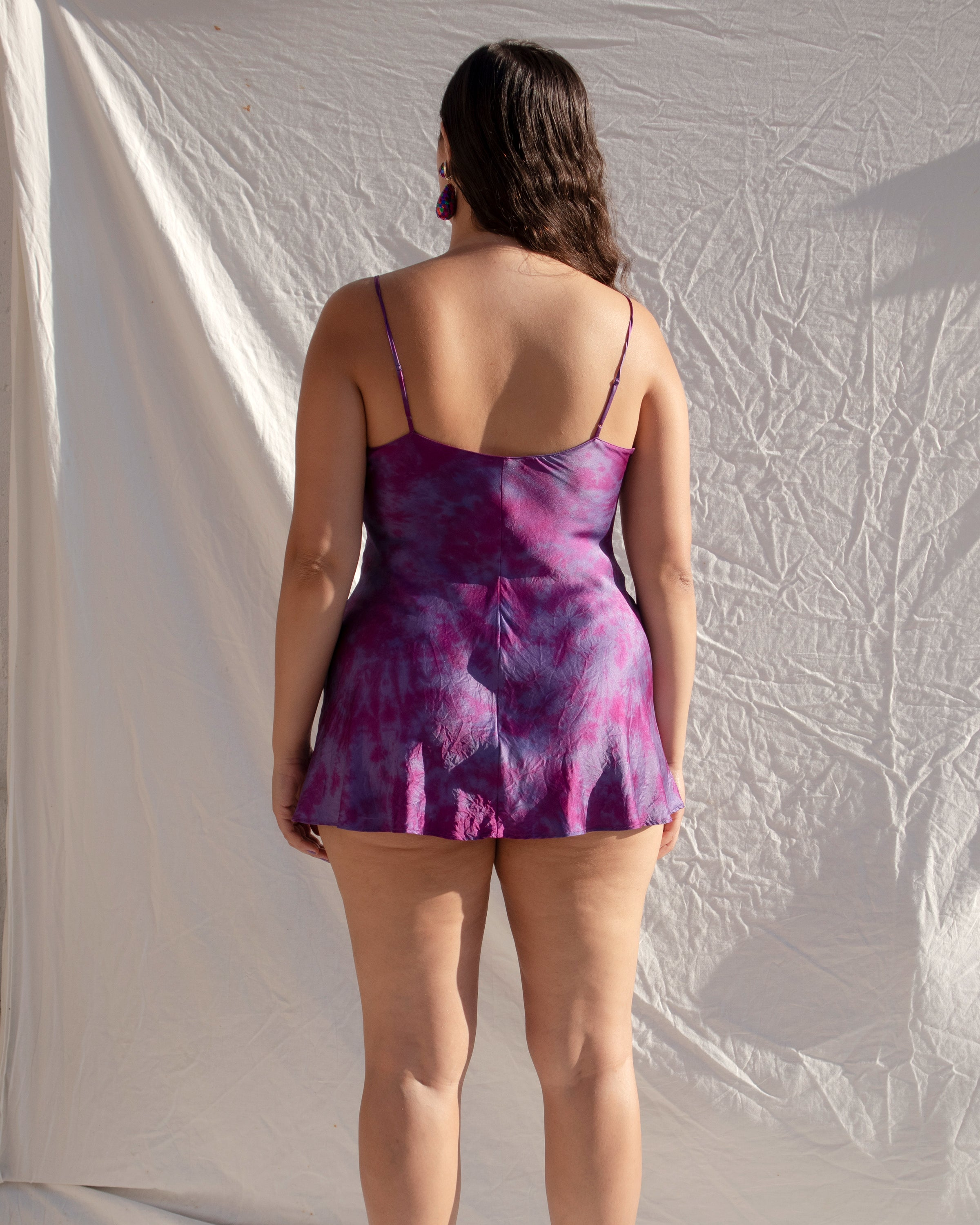 Purple Mini Slip