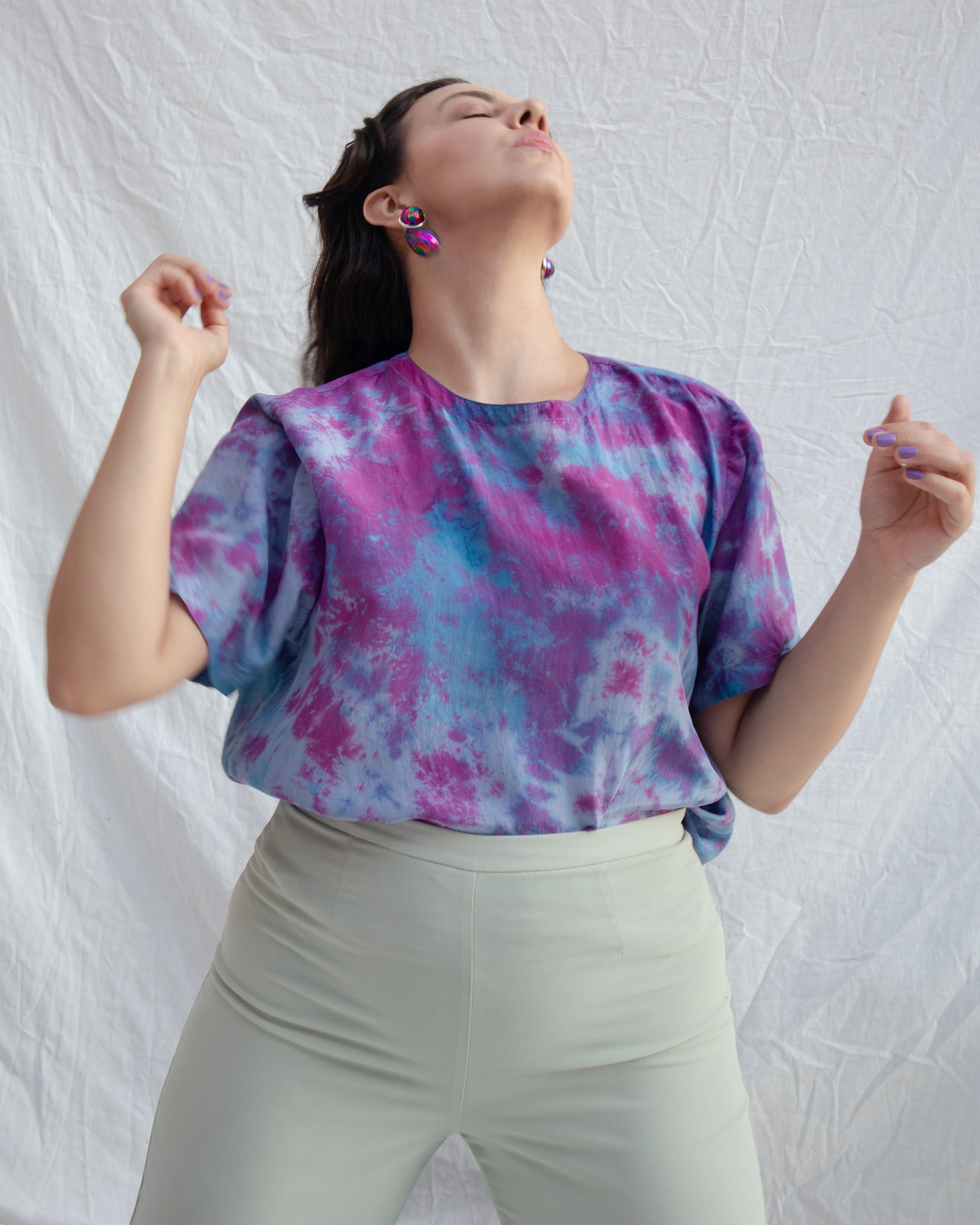 Purple Galaxy Tee