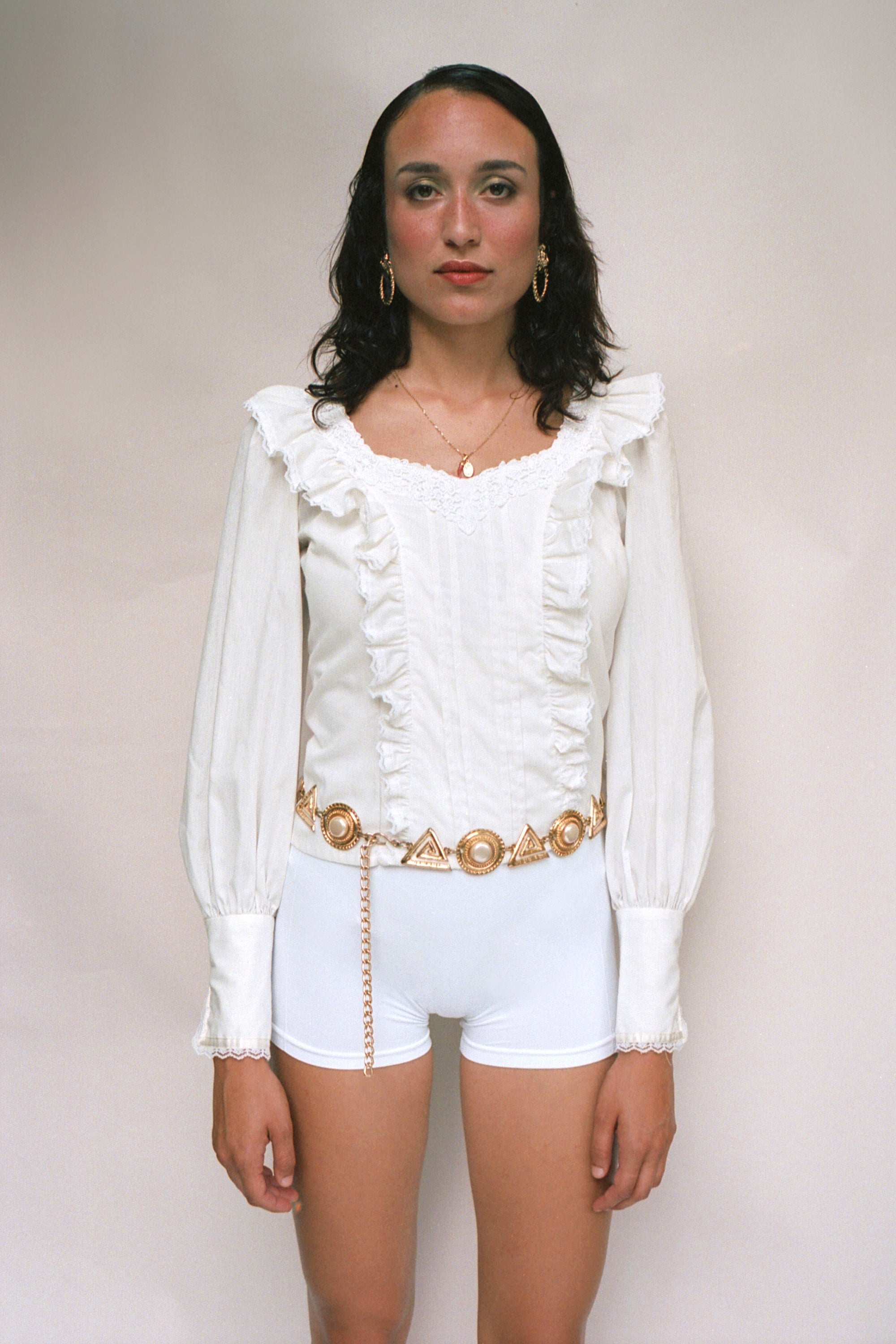 Gunne Sax 70s Cotton Blouse