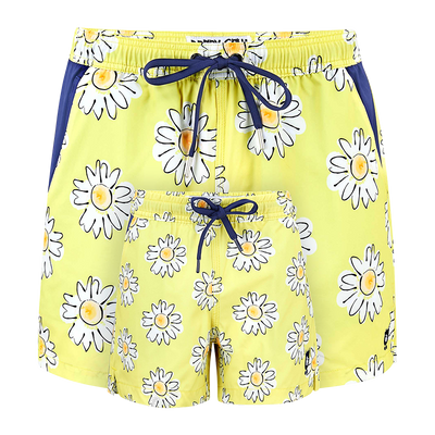 Daisies  Father & Son Swim Shorts