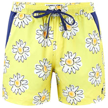 Load image into Gallery viewer, Daisies - Swim Shorts with Waterproof Pocket