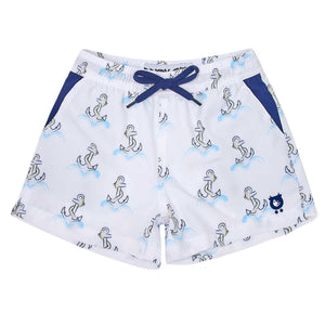 Anchors - Kid's Swim Shorts