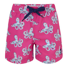 Load image into Gallery viewer, Octopuses - Kid's Swim Shorts