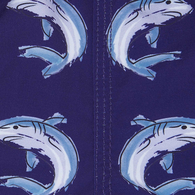 Sharks - Kid's Swim Shorts