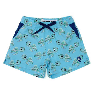 Turtles - Kid's Swim Shorts