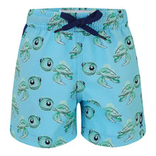 Load image into Gallery viewer, Turtles - Kid's Swim Shorts