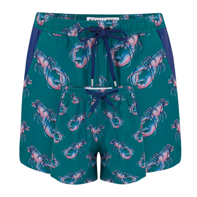 Lobsters  Father & Son Swim Shorts