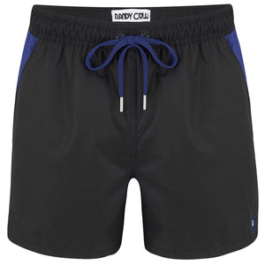 Charcoal - Swim Shorts with Waterproof Pocket