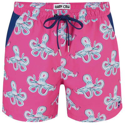 Octopuses - Swim Shorts with Waterproof Pocket