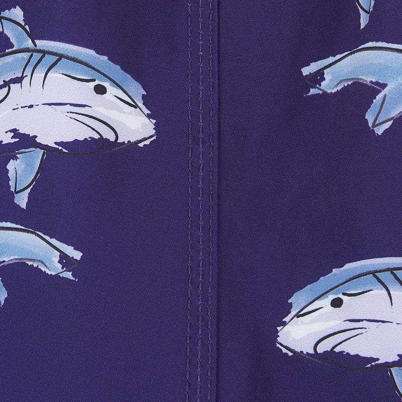 Sharks - Swim Shorts with Waterproof Pocket