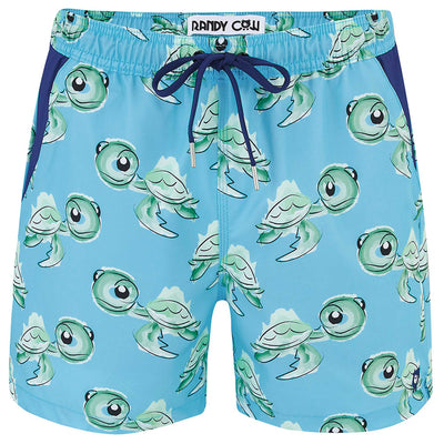 Turtles - Swim Shorts with Waterproof Pocket