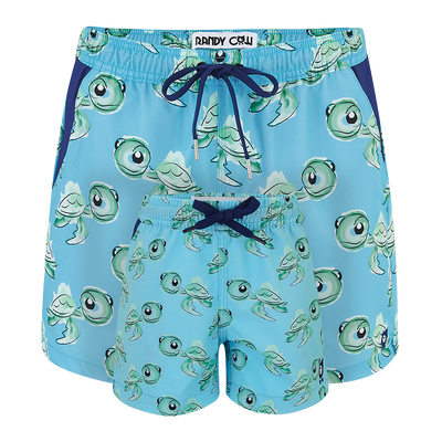 Turtles  Father & Son Swim Shorts