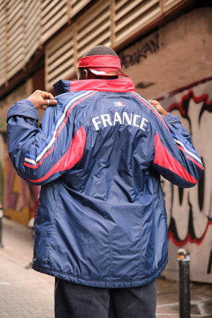French Football Federation Adidas Track  Jacket