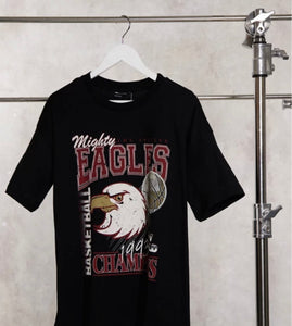 ASOS Eagles Baskılı Oversize T-shirt