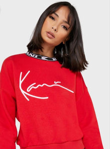 Karl Kani Crop Sweatshirt