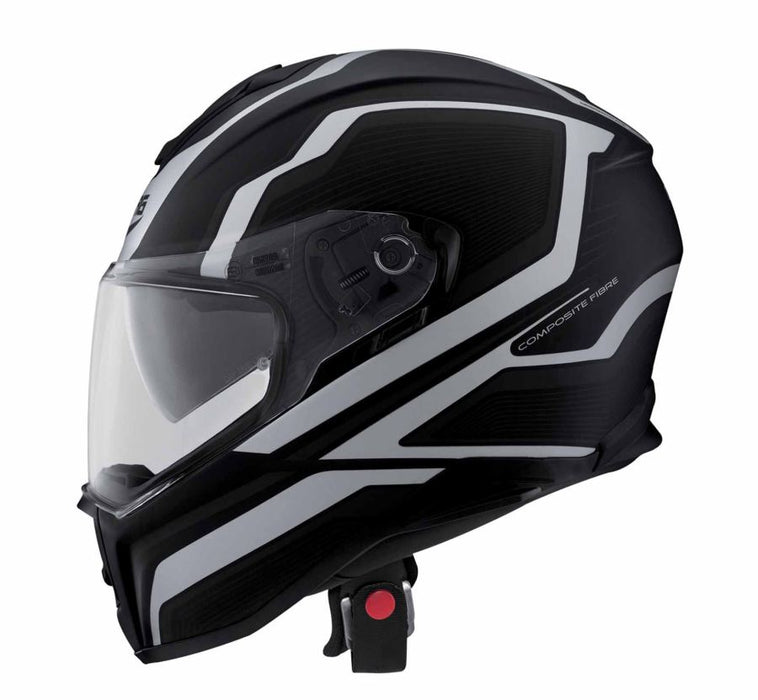Caberg Drift Flux Helm Zwart Antraciet Integraalhelmen