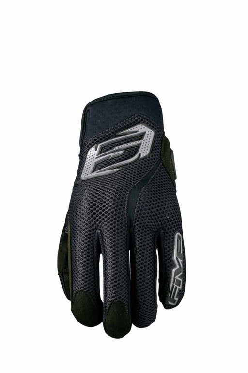Handschoen Five Rs5 Air Zwart Motorhandschoenen