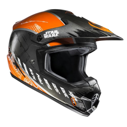 Hjc Cs-Mx Ii Rebel X Wing Star Wars Helm Zwart Oranje Hybride Adv Enduro Crossover Helmen