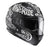 Hjc Cs15 Rebel Helm Zwart Wit Integraalhelmen