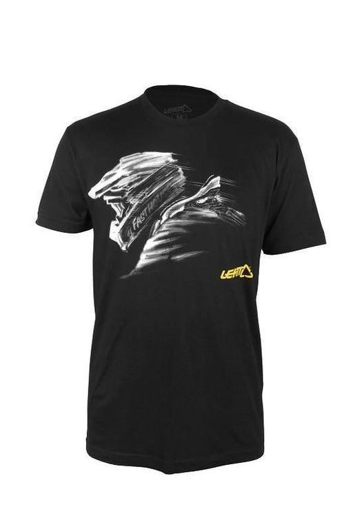 T Shirt Leatt Race Ready Zwart Shirts