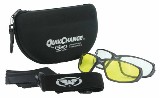 Zonnebril Global Vision Quick Change Kit Motor Brillen