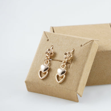 Rose Gold Earrings