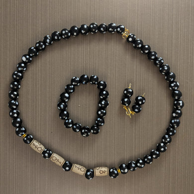 Perle Noir Jewelry Set
