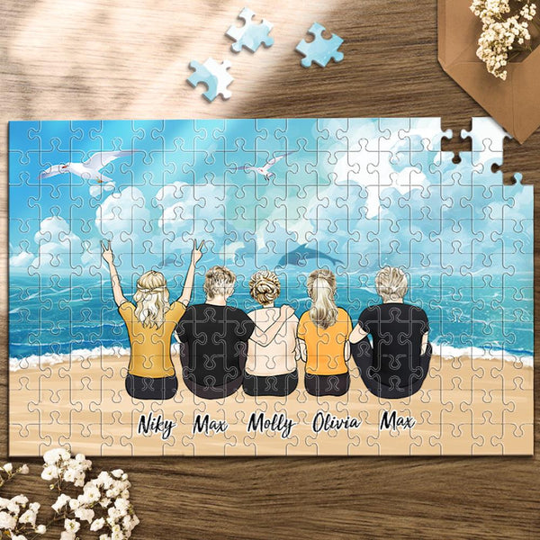 Personalized Photo Puzzles Custom Jigsaw Puzzle Mother's Day Gifts