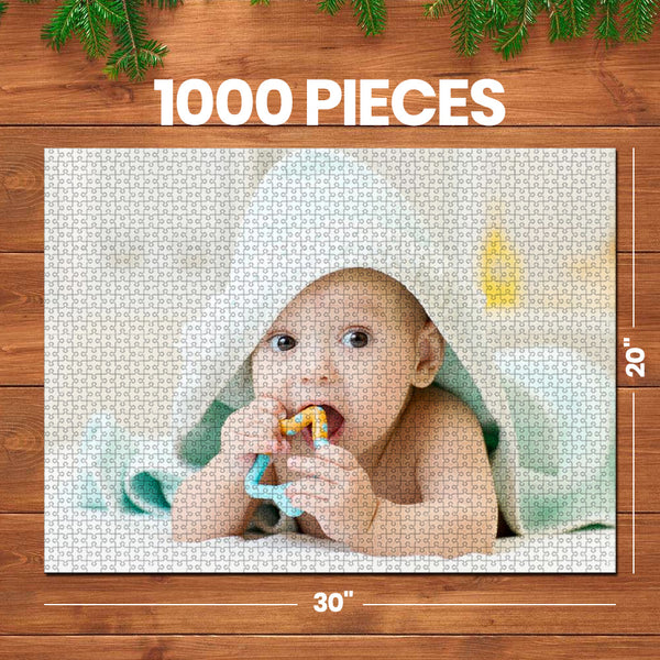 Custom Photo Jigsaw Puzzle Best Indoor Gift 35-1000 pieces