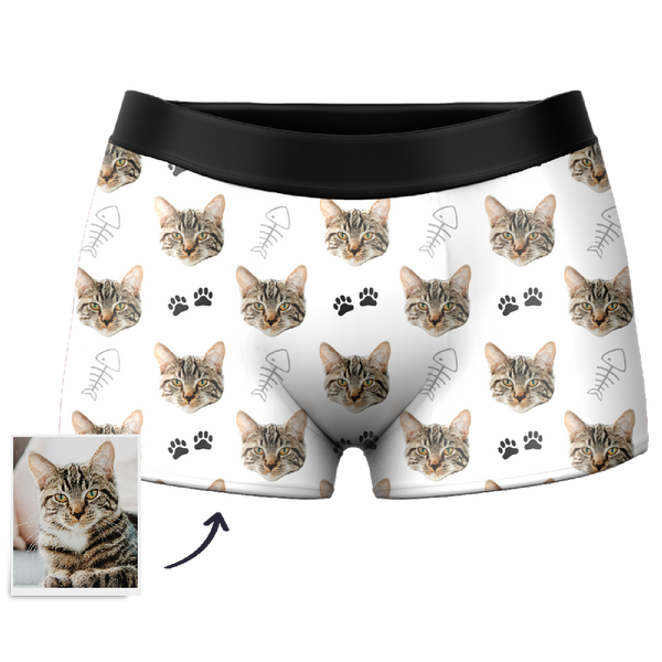 Men's Custom Cat Boxer Shorts, underpants,Briefs幕Getphotoblanket