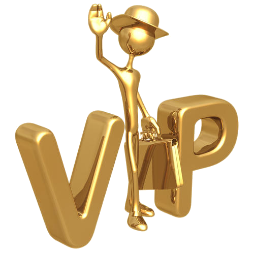 VIP Service with Priority Producing & Shipping