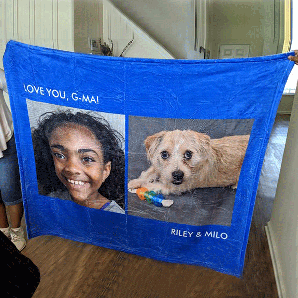 Custom Blankets Personalized Photo Blankets Custom Collage Blankets