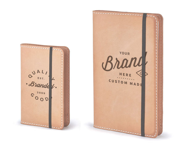 Personalized Premium Leather Cover For Moleskine Notebooks
