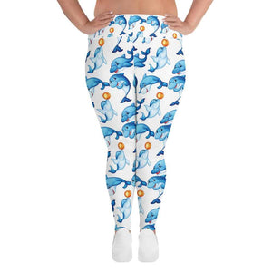 Dolphin Plus Size Leggings